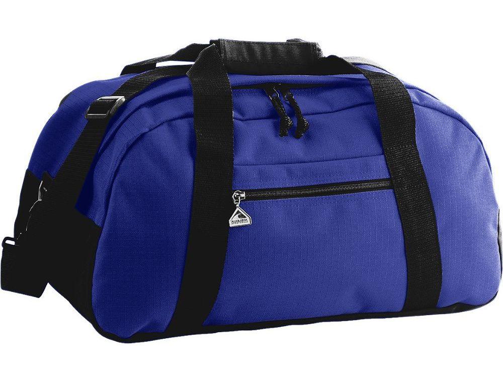 Augusta Sportswear Large Ripstop Duffle Bag SKU: 1703 Purple