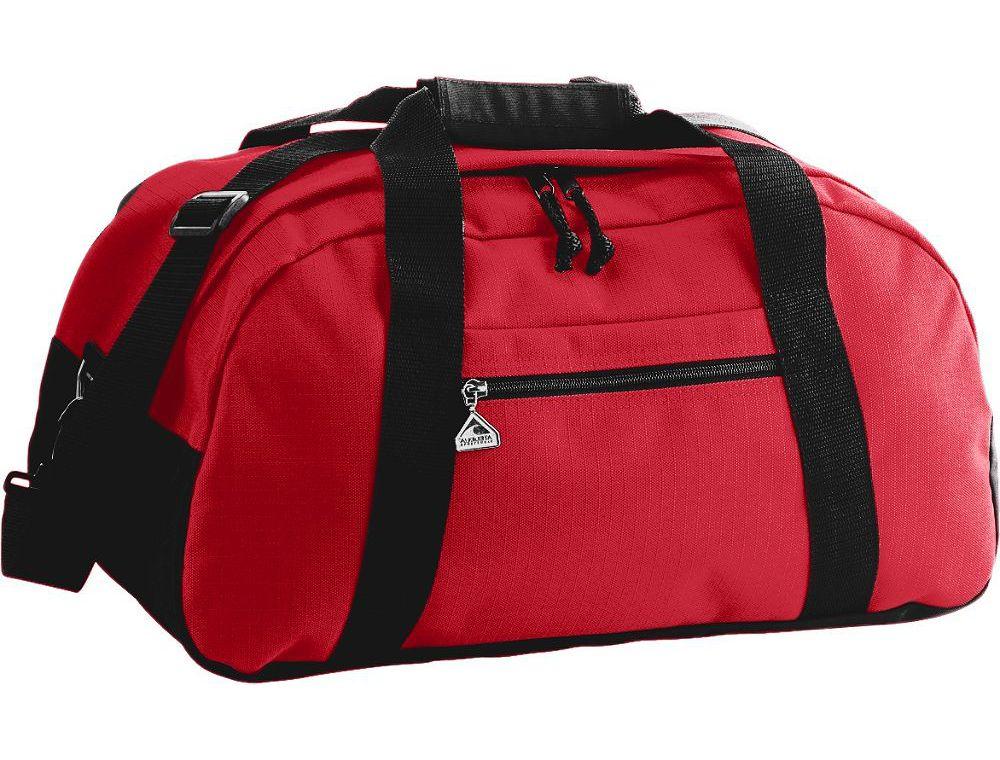 Augusta Sportswear Large Ripstop Duffle Bag SKU: 1703 Red